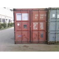 China Steel Dry 20 Foot Side Opening Container Various Colors 5.90m Length 2.39m Height wholesale