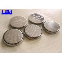 China Durable Lithium Button Batteries Green Power 240mAh 3v  For Electric Toys wholesale