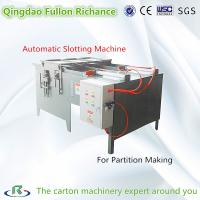 China Simple Type Board Slotting Machine for Partition Assembling Machine wholesale