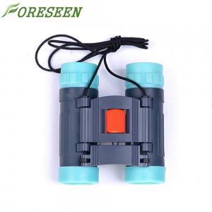 China Rain Proof Kids Plastic Binoculars , Handwheel Focusing Youth Binoculars With Compass 8x21 wholesale
