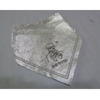 China Silver Self Adhesive Removing Beer Bottle Labels Aluminum Foil Heat Resistant wholesale