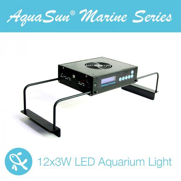Wireless Dimmable Sunset Sunrise 90w Led Aquarium Light: Marine Aquarium Lighting Images