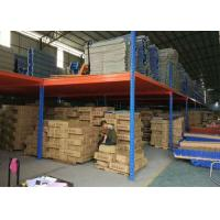 Buy cheap Stainless Steel Q235 Industrial Mezzanine Floor Warehouse Work Platform from wholesalers