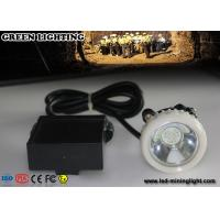 China Outdoor Hunting  White ABS 156LUM Super Bright Rechargeable LED Headlamp with Li  ion Battery wholesale