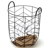 China Modern Other Furniture Metal Wire Laundry Basket Outdoor Backyard Furniture wholesale