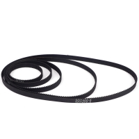 China Black Width 6mm Pitch 2 mm 3D Printer Timing Belts GT2 Closed Loop wholesale