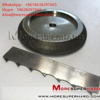 China CBN Grinding Wheels For Band Saw Blades  Alisa@moresuperhard.com on sale