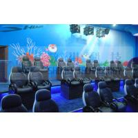 China Luxury Hydraulic System Motion Theater Chair Of Royal Colors With Leg Tickle Special Effect wholesale