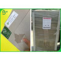 China High Density FSC Recycled Laminated Grey Board With 1mm 1.5mm 2mm Thick wholesale