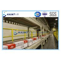 China Chaint Palletizing Unit Load Conveyor 30 M / Min Speed With Automatic Robot wholesale