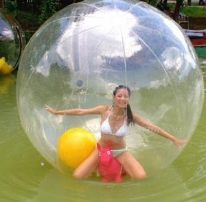 China colorful TPU water zorb ball on sale