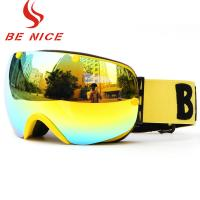 Buy cheap Mountain Snowmobile Ski Snowboard Goggles , Custom Ski Goggles For Men Women from wholesalers