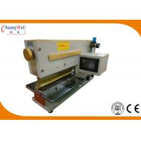 China Guillotine PCB Etching Machine LCD For Parts Counter , Depaneling Machine wholesale