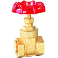 China CW617N forged Brass bronze water Gate Valve , With Non-rising Stems,Threaded Bonnet DN design wholesale