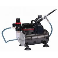 China Silent Portable Airbrush Air Compressor With Classic Silver Color TC-812K wholesale
