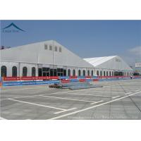 China 40mx50m Flame Retardant Carport Custom Event Tents For Large Trade Show wholesale