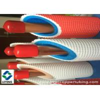 China Air Condition Insulation Rigid Copper Pipe , 15 mm Plastic Coated Copper Pipe  on sale