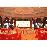 China DIP Rental Mesh Led Display Full Color , P20mm Led Stage Display on sale