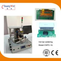 China Extremely Short Cycle Time Hot Bar Soldering Machine With 0.25mm Pitch wholesale