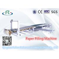 China Double Layer Paper Piling & Stacking Machine For Paperboard Sheet Collecting wholesale