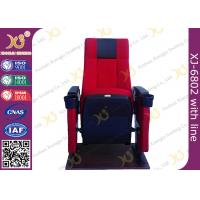 China Steel Frame Powder Coating Folding Theater Seats / Cinema Folding Chair wholesale