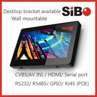 China 7 Industrial Terminal Android POE Tablet Support RS232 RS485 Serial Port on sale
