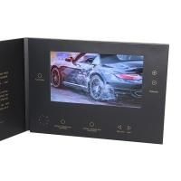 China VIF Free Sample Limited promotional  lcd 7 inch HD Screen video brochure with  5 folder buttons and  Magnetic switch wholesale