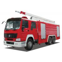 China Inter Cooling Engine Fire Rescue Vehicles wholesale