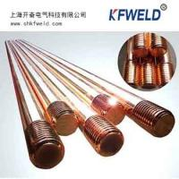 China Copper Clad Steel Grounding Rod, diameter 14.2mm, 5/8. length 1500mm, with UL list wholesale