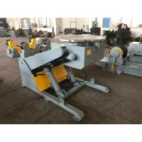 Buy cheap 3 T hydraulic rotary table pipe welding positioner with hand box and foot pedal from wholesalers