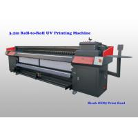 Buy cheap Flatbed Uv Roll To Roll Printer For Flexible Substrates With Ricoh Gen5 Print Head from wholesalers