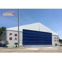 China 30M Temporary Outdoor  Aircraft Airplane Hangar Tent with Hard Wall wholesale