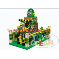 China Customized Robot Large Inflatable Bouncer Combo Outdoor Playground Equipment wholesale