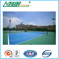 China Green PU Sports Court Flooring Custom Badminton Polyurethane Floor wholesale