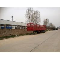 China Fence Cargo Trailer Light Self - Weight Cargo Semi Trailer Truck Used In Logistic Industry wholesale