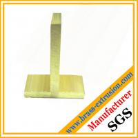 Wholesale C3604 lead copper brass extrusion profiles T shapes from china suppliers