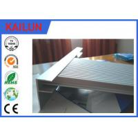 China Construction Extrusions Waterproof Aluminum Decking , Aluminium Skirting Profiles wholesale