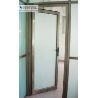 China 6082 T5 / T6  Aluminum Door Frames Champagne Anodized With finished Machining wholesale