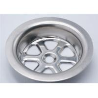 China Stainless Steel Sink Strainer Parts 27 G OD 70 Mm Acid And Alkali Resistance wholesale
