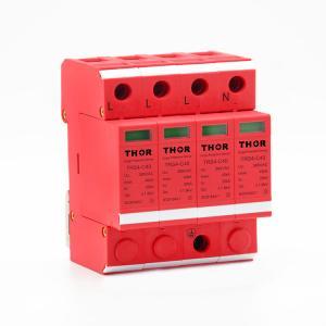 China Whole house surge protection lightning arrester power 40KA surge protector wholesale