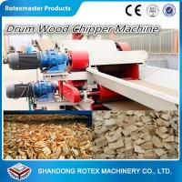 China Wood Sawdust Log Machine , Sawdust Wood Grinding Equipment Crusher wholesale
