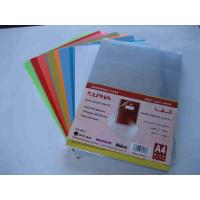 China Durable thermal clear pvc plastic binding cover with 125mic to 350mic thickness wholesale