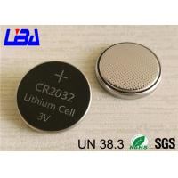 China High Capacity 3v Lithium Battery , Original Lithium Coin Battery For Car Remote Control wholesale