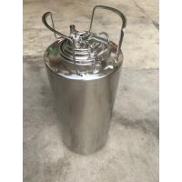 China Eco Friendly Material 5 Gallon Ball Lock Keg With Pressure Relief Valve And Lids wholesale