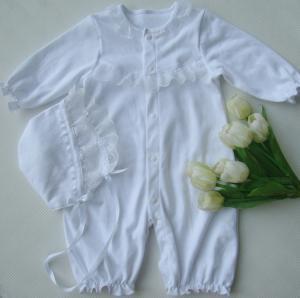 China baby christening clothing ,girl