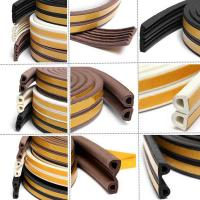 China rubber door seal self adhesive rubber strip on sale