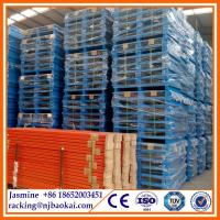 China Stackable Steel Heavy Duty Storage Pallet for Warehouse wholesale