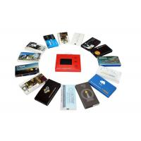 China Automatic lcd video brochure card for holiday greetings , 1G / 2G lcd video mailer wholesale