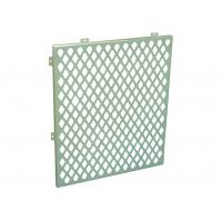 China Customized Hollow Perforated Aluminum Panels Internal Cladding Panels Anti - Shock wholesale