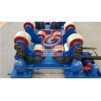 China 5T Pipe Welding Rotator with PU Rollers and Siemens Motor , Wireless type Remote Control Box wholesale